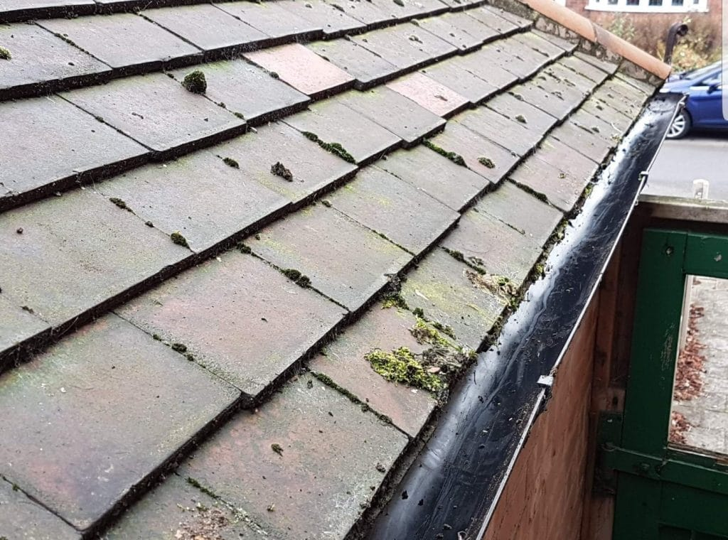 Redditch Gutter Clearance After Photo